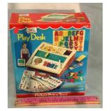 Vintage Fisher-Price Play Desk