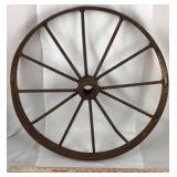 Antique Cast Iton Wagon Wheel