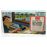 Vintage Sears 10 - Transistor Radio Transmitter &