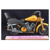 Vintage Metal Model Motorcycle