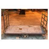 Large Vintage Metal Cart