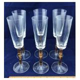6 Piece Stemware Glasses