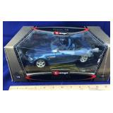 BMW M Roadster 1996 1/18 Scale Model by Burago
