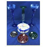Handpainted Porcelain Dresser Box and More