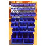 Modular Storage Unit with Plastic Tubs
