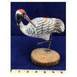 Wood Bird Carving