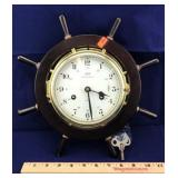 Vintage Schatz Royal Mariner Clock with Key