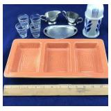 Divided Ceramic Serving Tray and More
