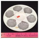 Vintage German Oyster Plate