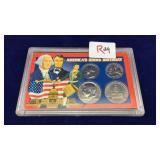 Packaged Coin Set of America's 200th  Birthday