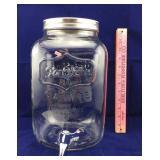 Yorkshire Glassware 1.8 Gallon Beverage Dispenser