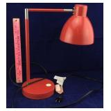 Red Touch Lamp