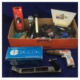 Microphones, Audio Cables, Air Drill, Etc.