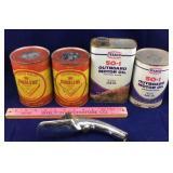 Vintage Duralene & Texaco Oil