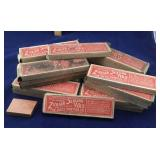 26 Blocks Of Vintage Packaged Canning Sealing Wax