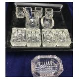 Tray Lot of Various Sized Salts