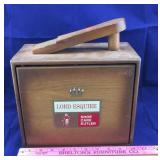 Vintage Lord Esquire Shoe Care Butler