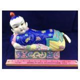Decorative Oriental Ceramic Box