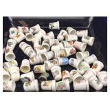 Collection of Porcelain Thimbles