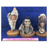 Neil J. Rose Native American Sculptures