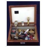 Vintage Humidor box of watches