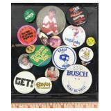 Assortment of Pin Buttons