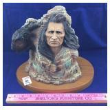 Neil J. Rose Native American Sculpture