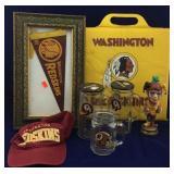 Vintage Redskins Memorabilia