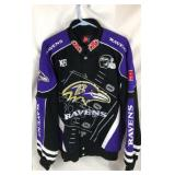 Ravens NFL Jacket Large Size