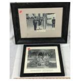 2 Old Photograph Prints