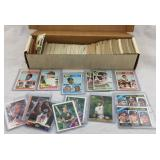 Sports card collection box