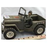 Vintage Tonka Jeep With Figure