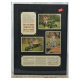 Framed Original 1970 John Deere Tractor Ad