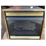 Gas Powered Fireplace Heater