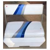 Boat Cooler Seat with Adjustable Back Rest
