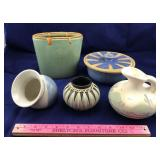 5 Handmade Pottery Pieces