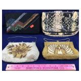 3 Handmade Beaded Purses and More