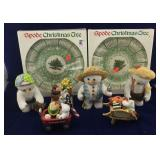 Spode Christmas Plates & Snow Wonders Figurines