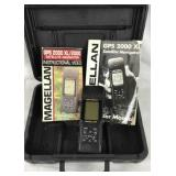 Handheld Magellan GPS 2000 with Case