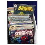 Comic books and preview books