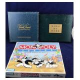 3 Board Games including Monopoly