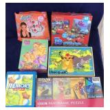Assortment of Child Games and Puzzles