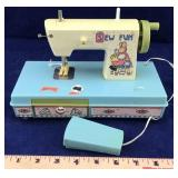 Vintage Child's Sewing Machine
