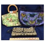 Coach Purse and 2 other Purses