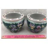 Pair of Oriental Pots
