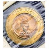 Uncirculated 1939 Penny Gold Seal Milk