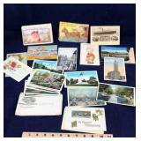 Assortment of Old Post Cards
