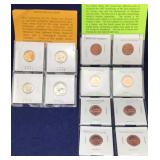 Proof Set of US Coins and Uncirculated 2009
