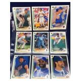 Nine 1991 Upper Deck Baseball Cards