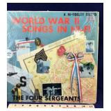 World War II Songs in Hi-Fi on Vinyl 33 RPM